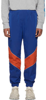 Gucci Blue and Orange Technical Lounge Pants