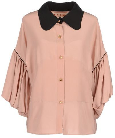 Marni Shirt with 3/4-length sleeves