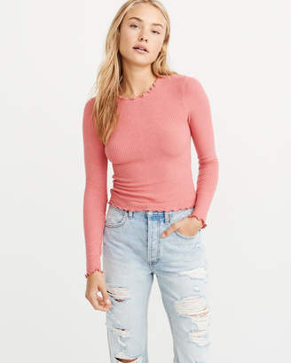 Abercrombie & Fitch Slim Ribbed Tee