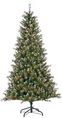 Sterling Tree Company 7.5Ft Pre-Lit Mixed Needle Glazier Pine