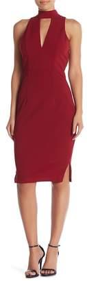 Lumier Diana Crisscross Back Midi Dress