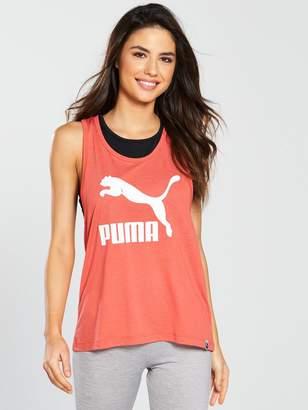 Puma Classics Logo Tank - Coral