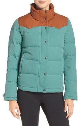 Women's Patagonia 'Bivy' Water Repellent Down Jacket $249 thestylecure.com