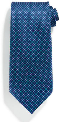 Stefano Ricci Neat Medallion-Print Silk Tie $250 thestylecure.com