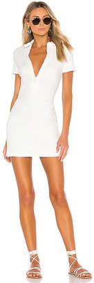 Solid & Striped Rib Zip Dress