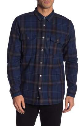 Globe Clifton Plaid Long Sleeve Standard Fit Shirt