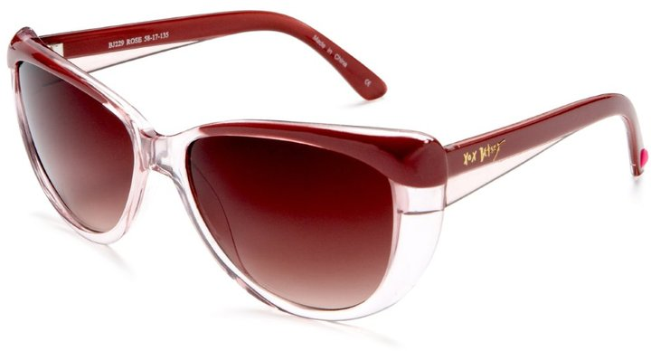 Betsey Johnson Women's 229 Resin Sunglasses