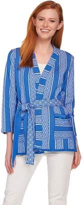 C. Wonder Kimono Style Knit Jacket with Fringe Detail