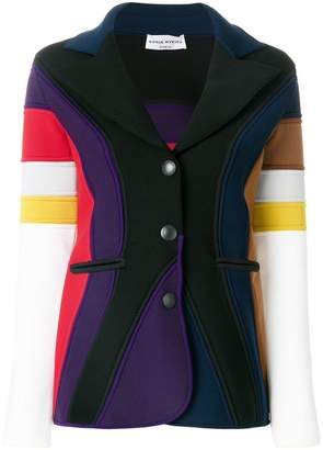Sonia Rykiel Milano knit multi-stripe jacket