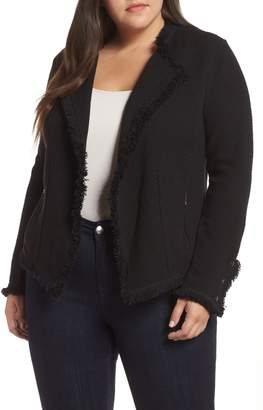 Nic+Zoe Fringe Mix Jacket