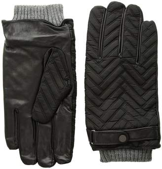 Ted Baker Afro Quilted Gloves Dress Gloves