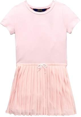 Ralph Lauren Pleat T-Shirt Dress
