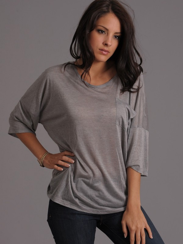 Kain Drop Sleeve Pocket Tee
