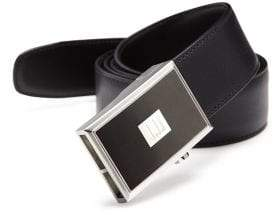 Dunhill Reversible Pinbuckle Leather Belt