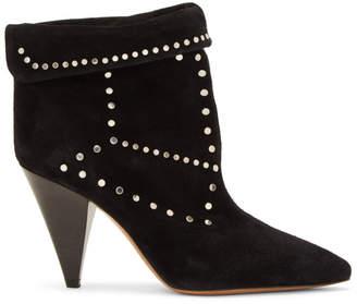 Isabel Marant Black Lisbo Ankle Boots