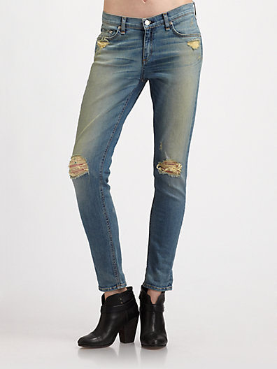 Rag and Bone The Dash Slouch Skinny Jeans