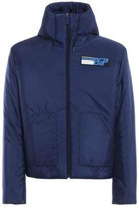 Prada Logo Patch Padded Jacket