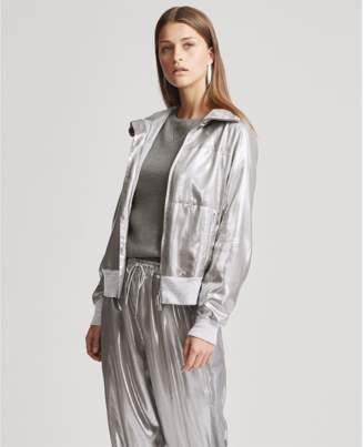 Ralph Lauren Loka Metallic Foil Jacket