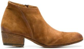Pantanetti worn-effect ankle boots