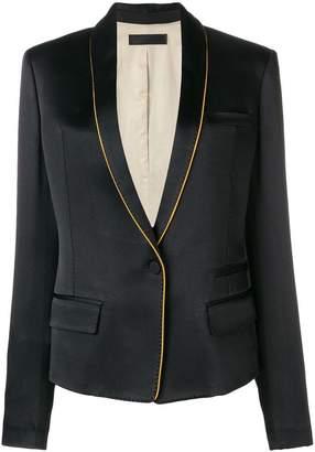 Haider Ackermann shawl lapel jacket