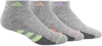 adidas 3-Pk. Cushioned Low-Cut Women Socks