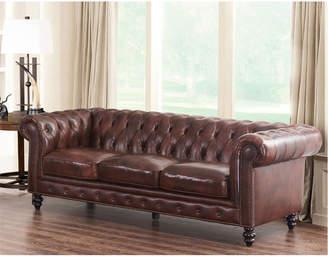 Abbyson Living Anyla Top-Grain Leather Sofa