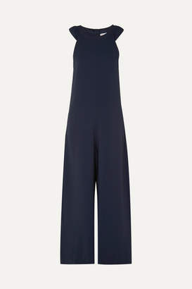 RED Valentino Crepe Jumpsuit - Navy