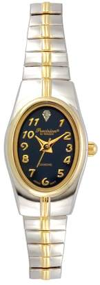 Gruen Precision By Precision by Women's Diamond Two Tone Watch