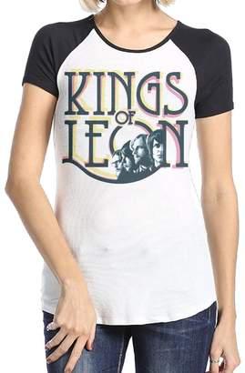 Leon DANIELLE GATZKE Danielle Women's Kings Short Sleeve Raglan Baseball T-Shirt