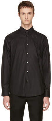 Stella McCartney Black Tonal Swallow Shirt