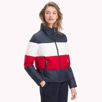 Tommy Hilfiger Colorblock Down Puffer