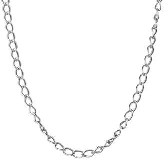 "American West Sterling 28"" Antiqued Cable ChainNecklace"