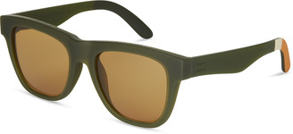 TRAVELER by TOMS Dalston Matte Rifle Green | Amber Lens
