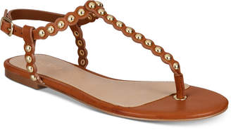 Aldo Balata Studded Thong Flat Sandals Women's Shoes