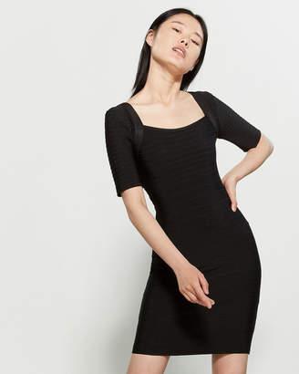 Wow Couture Short Sleeve Bandage Dress