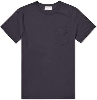 Officine Generale Garment Dyed Pocket Tee