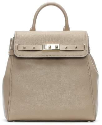 Michael Kors Addison Truffle Pebbled Leather Backpack