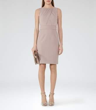 Reiss Benoit Cross-Front Dress