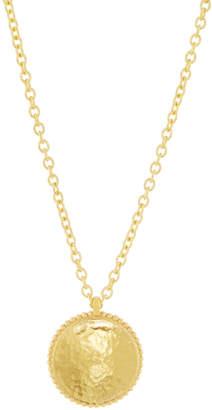 Gurhan Monarch 22k Disc Pendant Necklace