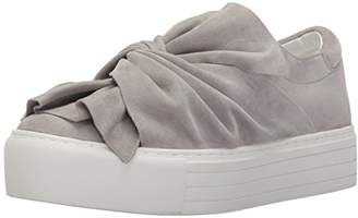 Kenneth Cole New York Women's Aaron Platform Sneaker Twisted Bow Suede Fashion