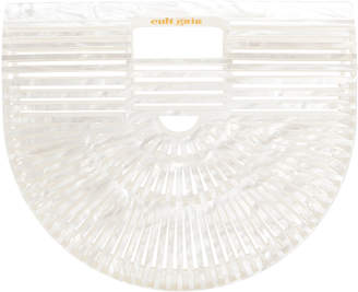 Cult Gaia Ark Mother Of Pearl Small Clutch