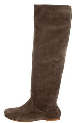 Tomas Maier Suede Moccasin Boot