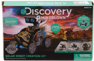 Solar Vehicle Construction Set Toy