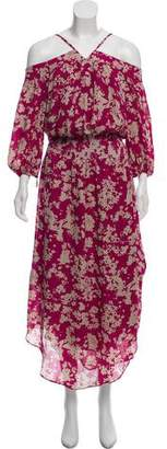 Ramy Brook Silk Maxi Dress w/ Tags