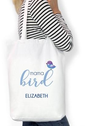 "Monogram Online Mama Bird Custom Cotton Tote Bag, Sizes 11"" x 14"" and 14.5"" x 18"""