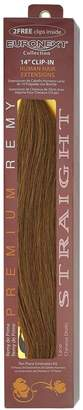 Euronext Clip In Chestnut Brown 14 Inch Human Hair Extensions