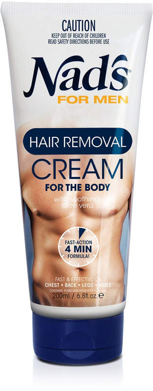 Nads Natural Hair Removal Cream for Men
