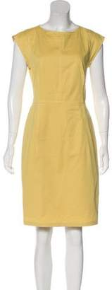 Derek Lam Cap Sleeve Knee-Length Dress