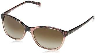 DKNY Women's Plastic Woman Sunglass 0DY4093 Square Sunglasses