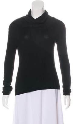 Oscar de la Renta Cashmere-Blend Turtleneck Sweater
